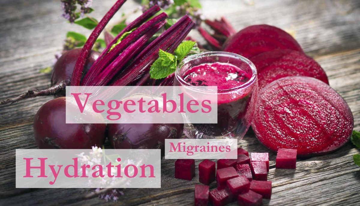 Vegetables, Water, Hydration, Minerals, and Migraine Prevention